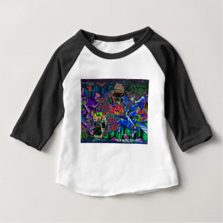 Abstract Altered Graffiti Baby T-Shirt