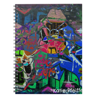 Abstract Altered Graffiti Notebook