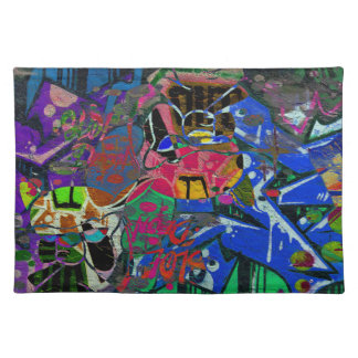 Abstract Altered Graffiti Placemat