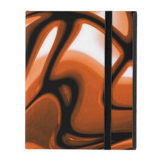 Abstract Amber Ocean iPad Folio Case