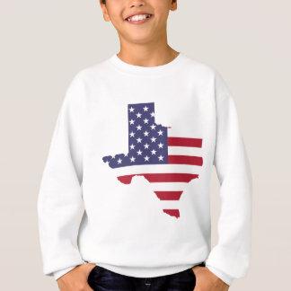 Abstract America Art Texas Sweatshirt