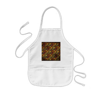 Abstract ancient background kids' apron