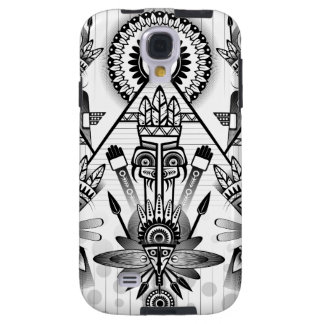 Abstract Ancient Native Indian Tribal Galaxy S4 Case