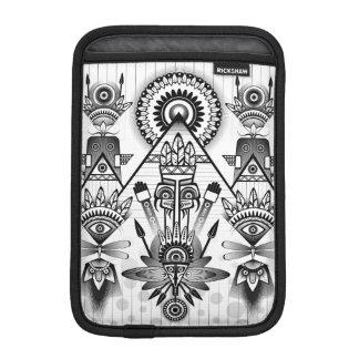 Abstract Ancient Native Indian Tribal iPad Mini Sleeve