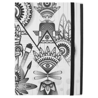 """Abstract Ancient Native Indian Tribal iPad Pro 12.9"""" Case"""