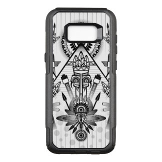 Abstract Ancient Native Indian Tribal OtterBox Commuter Samsung Galaxy S8+ Case