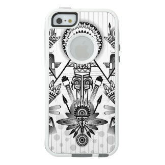 Abstract Ancient Native Indian Tribal OtterBox iPhone 5/5s/SE Case