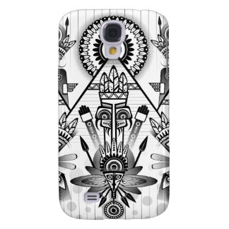 Abstract Ancient Native Indian Tribal Samsung Galaxy S4 Case