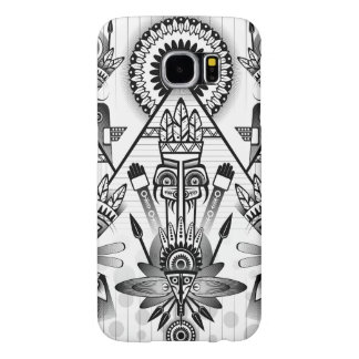 Abstract Ancient Native Indian Tribal Samsung Galaxy S6 Cases