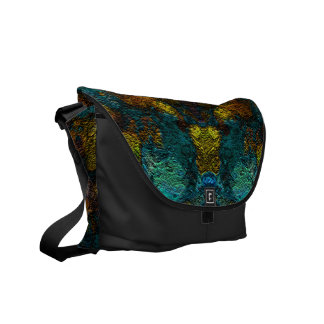 Abstract and unique patterned bag courier bags
