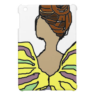 Abstract Angel Back iPad Mini Cases