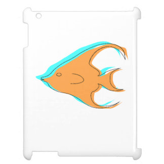 Abstract Angel Fish Case For The iPad 2 3 4