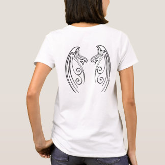 Abstract Angel Wings T-Shirt