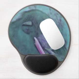 abstract animal chimp gel mouse pad