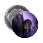 Abstract Animal Deadly Panther Pin