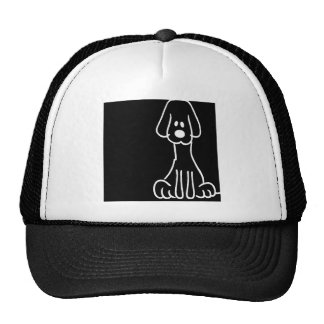 Abstract Animal Doodle Dog Trucker Hat