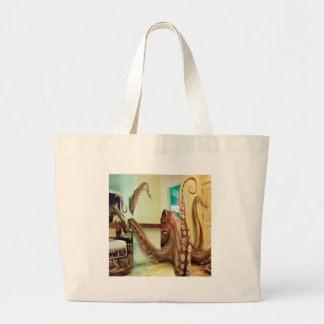 Abstract Animal Home Octopus Canvas Bag