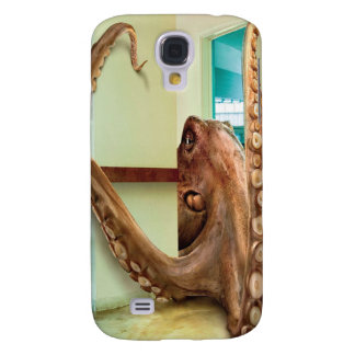 Abstract Animal Home Octopus Galaxy S4 Cases