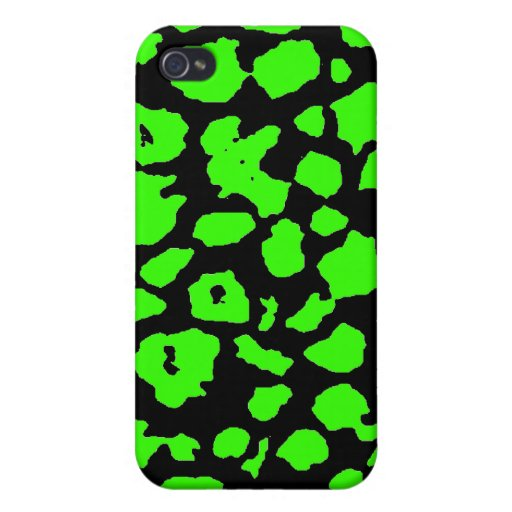 Abstract Animal Pern Background Colourful iPhone 4 Cases