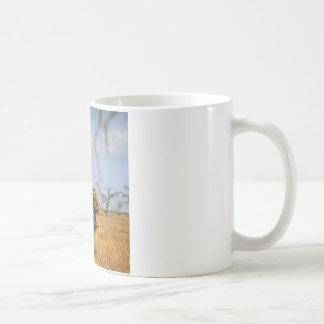 Abstract Animals Kangaroo Baby Shock Coffee Mugs