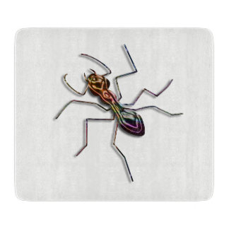 Abstract ant. cutting board