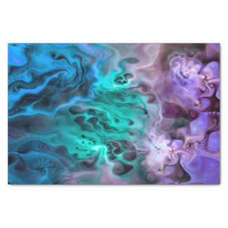 Abstract Apophysis Fractal I + your text & idea Tissue Paper