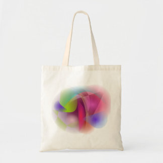 Abstract Apple Budget Tote Bag