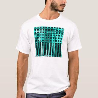 Abstract Aqua Green Parking Garage T-Shirt