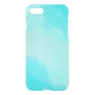 Abstract Aqua Watercolor iPhone 8/7 Case