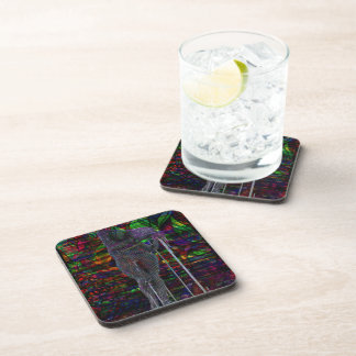 Abstract Aquarius Goddess Coaster