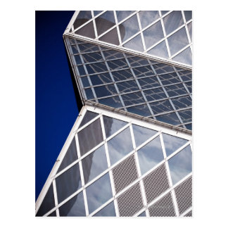 Abstract architectural detail of the Seattle Postcard