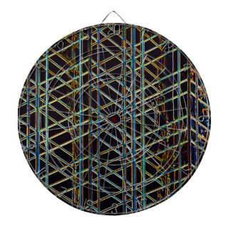 Abstract Architecture Dartboard