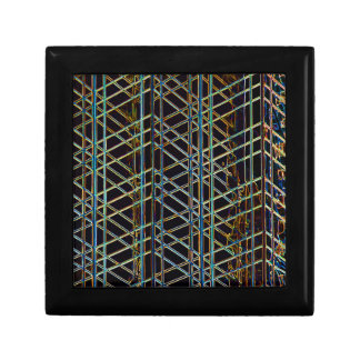 Abstract Architecture Small Square Gift Box