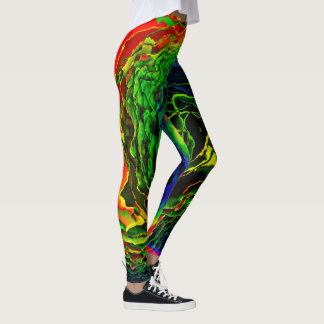 Abstract Art 115 Options Leggings