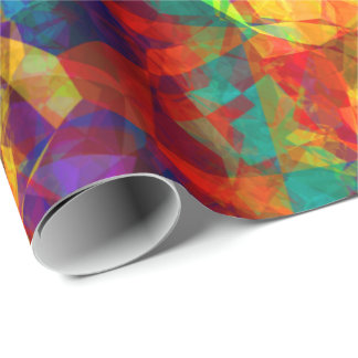 Abstract Art 125 Wrapping Paper