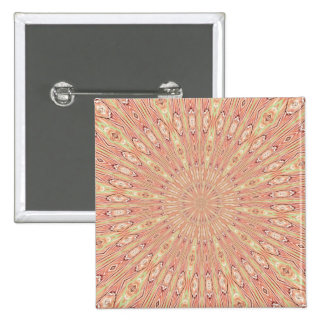 ABSTRACT ART 15 CM SQUARE BADGE