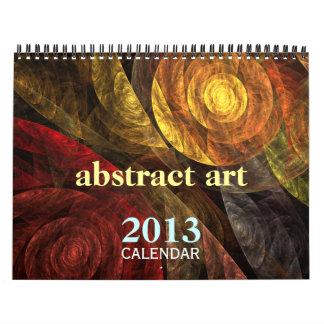 Abstract Art 2013 Fine Art Calendar (Medium)