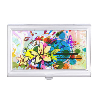 Abstract Art 26 Business Card Holder