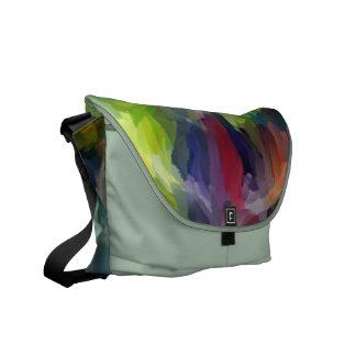 Abstract Art   Abstract Painting 9 Messenger Bag
