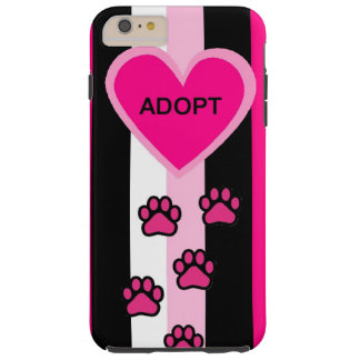 Abstract Art Adopt a Pet Design I pHone Case