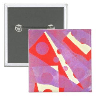 Abstract Art Badge
