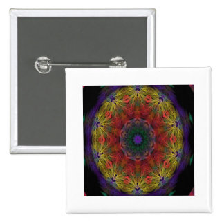 ABSTRACT ART PINBACK BUTTONS