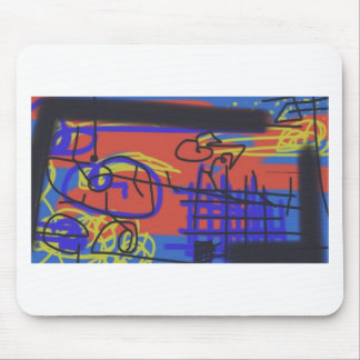 Abstract Art | Barbed Wire Mousepads