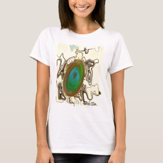 Abstract Art | Brown Agate T-Shirt