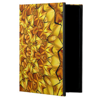 Abstract Art Brown Radiating Star Powis iPad Air 2 Case