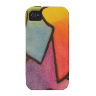 Abstract art Case-Mate iPhone 4 cover