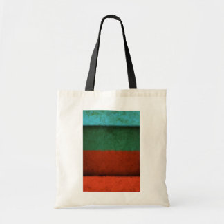 Abstract Art Color Fields Red Green Blue Grunge Bags
