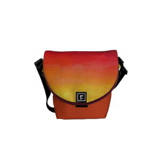 Abstract Art Colorful Modern Painting Courier Bags