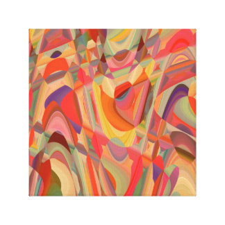 Abstract Art Colour Composition Canvas Print