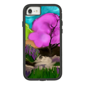 Abstract Art Cotton Candy Trees Case-Mate Tough Extreme iPhone 8/7 Case